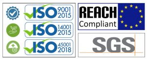 ISO/SGS/REACH certifications